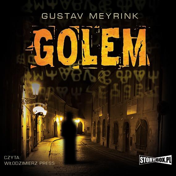 okładka Golemaudiobook | MP3 | Gustav  Meyrink