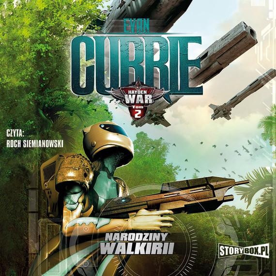 okładka Hayden War. Tom 2. Narodziny Walkirii, Audiobook | Evan Currie
