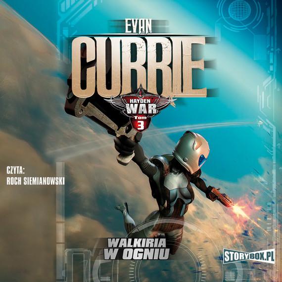 okładka Hayden War. Tom 3. Walkiria w ogniu, Audiobook | Evan Currie
