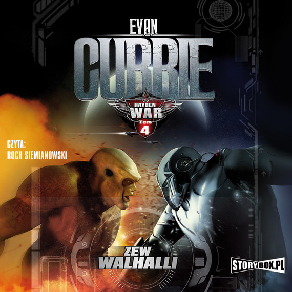 okładka Hayden War. Tom 4. Zew Walhalliaudiobook   MP3   Evan Currie
