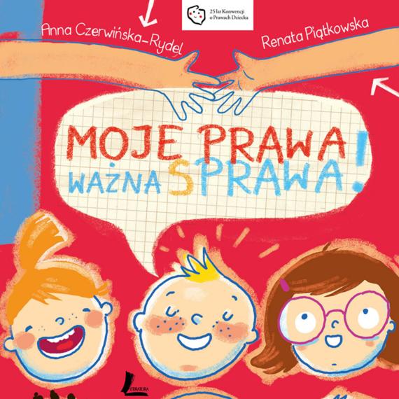 okładka Moje prawa, ważna sprawa!, Audiobook   Czerwińska-Rydel Anna, Renata  Piątkowska