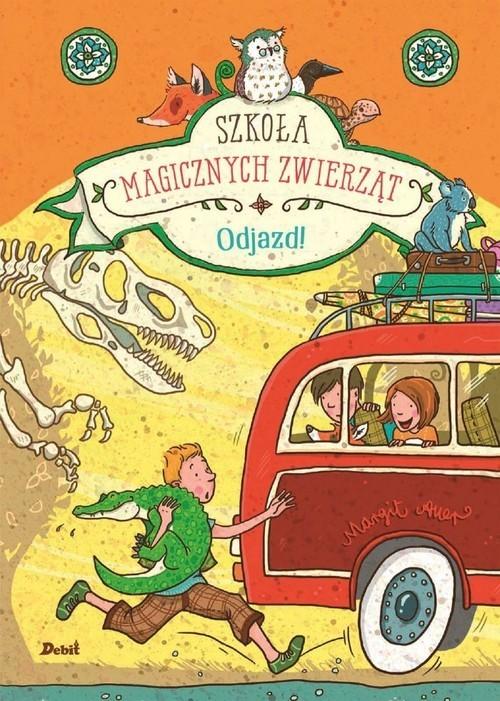 okładka Szkoła magicznych zwierząt Odjazd, Książka | Auer Margit