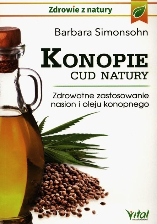 okładka Konopie cud natury, Książka |