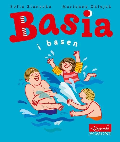 okładka Basia i basen, Książka | Zofia Stanecka