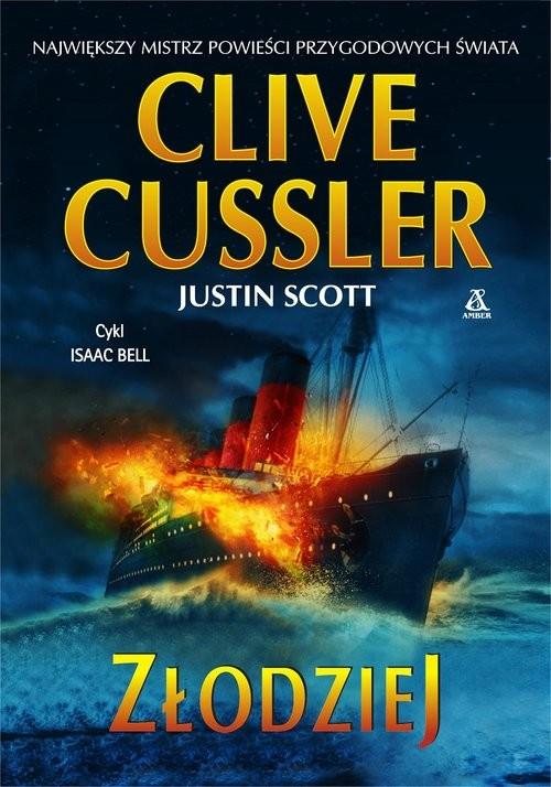 okładka Złodziej, Książka   Cussler Clive