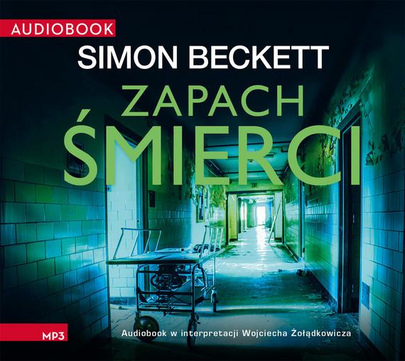 okładka Zapach śmierciaudiobook | MP3 | Simon Beckett