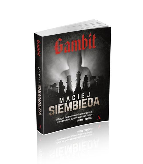 okładka Gambit WIELKIE LITERYksiążka |  | Maciej Siembieda