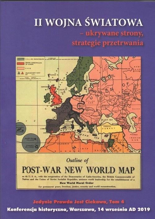 okładka II wojna światowa ukrywane strony strategie przetrwania, Książka | Praca Zbiorowa