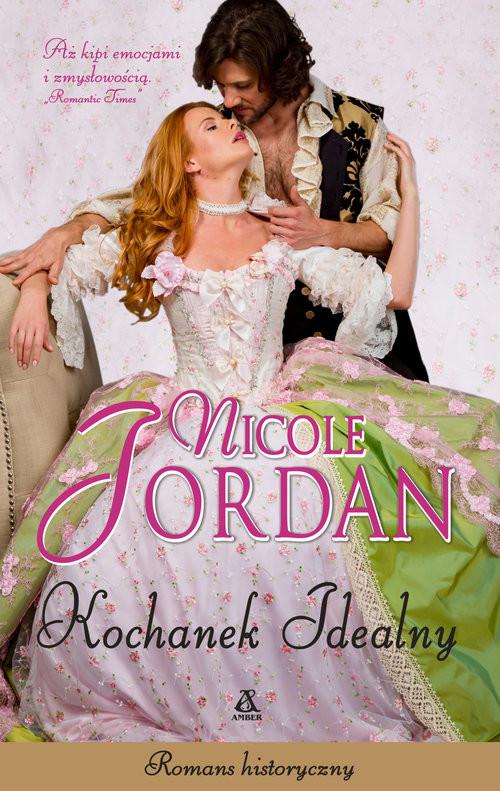 okładka Kochanek idealny, Książka | Nicole Jordan