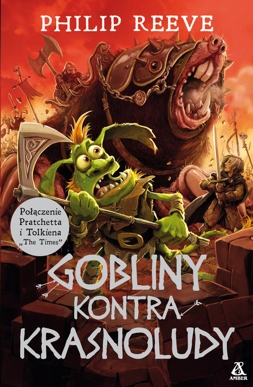 okładka Gobliny kontra Krasnoludy, Książka | Reeve Philip