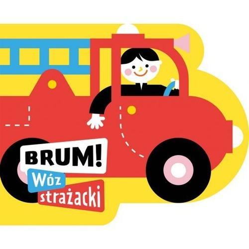 okładka Brum! Wóz strażacki Wykrojnik, Książka | Anna Jędrzejczyk