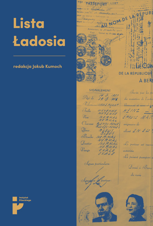 okładka Lista Ładosia, Książka | Kumoch Jakub red.