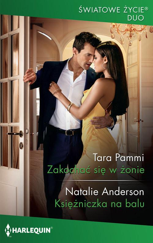 okładka Zakochać się w żonie, Książka | Tara Pammi