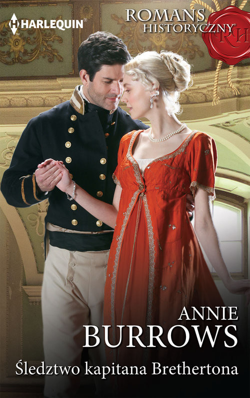 okładka Śledztwo kapitana Brethertona, Książka | Annie Burrows