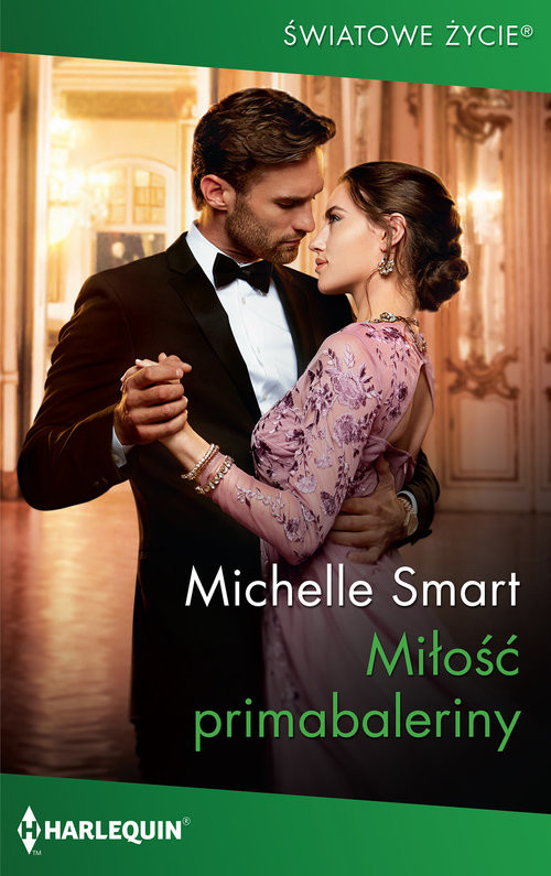 okładka Miłość primabaleriny, Książka | Michelle Smart
