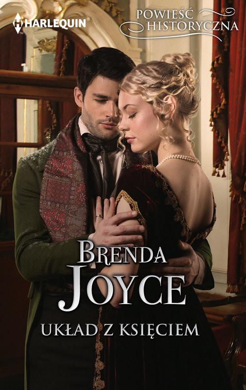okładka Układ z księciem, Książka | Brenda Joyce