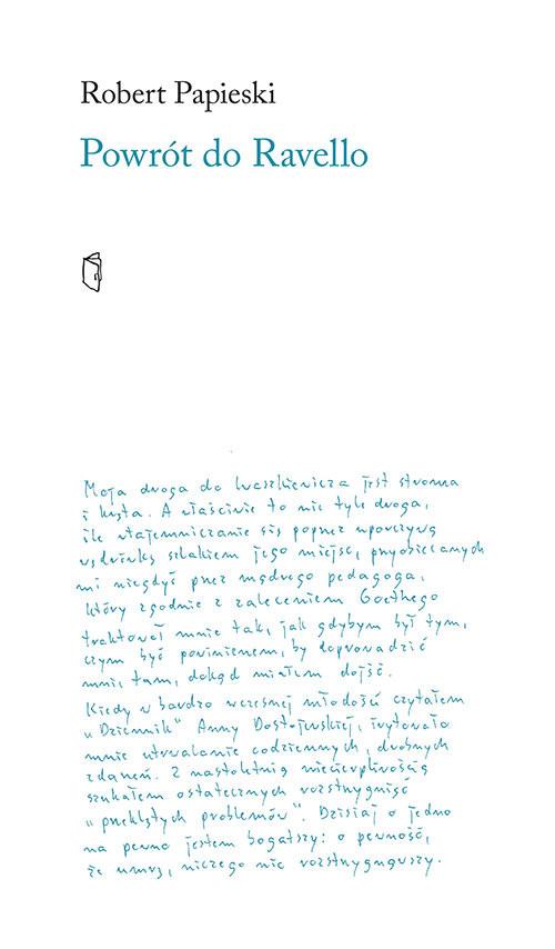 okładka Powrót do Ravello, Książka | Robert Papieski