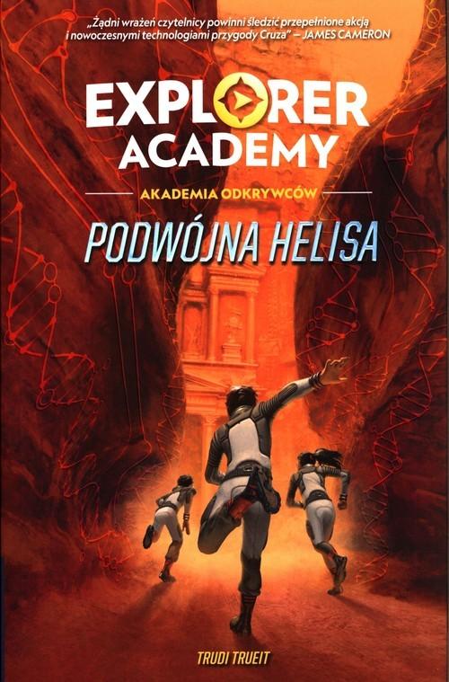 okładka Explorer Academy Akademia Odkrywców Tom 3 Podwójna Helisaksiążka      Trueit Trudi