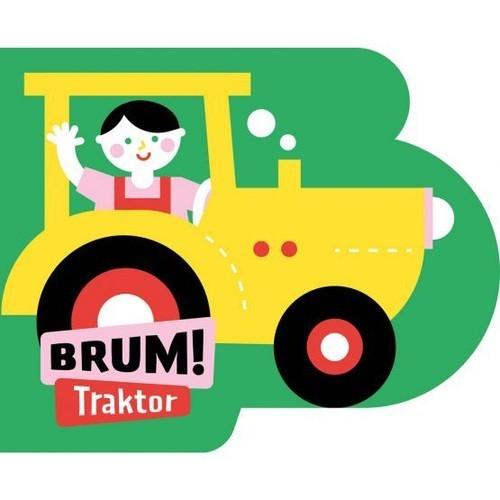 okładka Brum! Traktor Wykrojnik, Książka | Anna Jędrzejczyk
