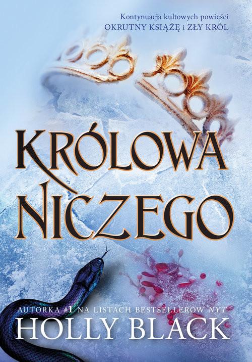okładka Królowa niczego, Książka | Holly Black