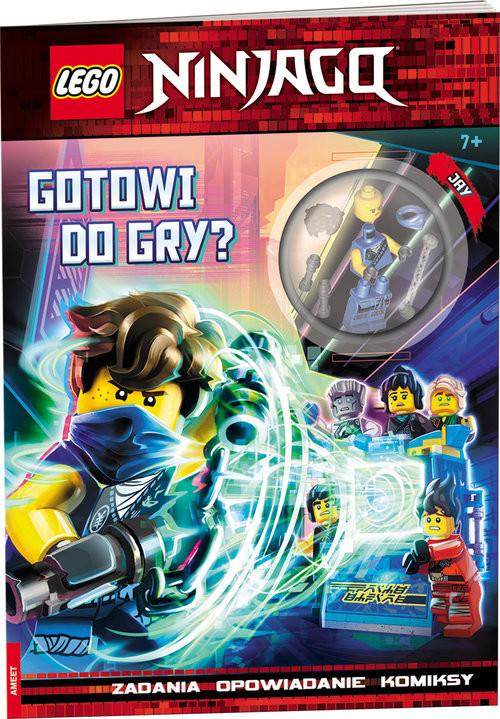 okładka Lego Ninjago Gotowi do gry? LNC-6719, Książka |