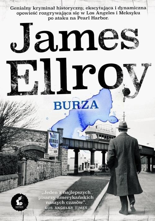 okładka Burza, Książka   James Ellroy