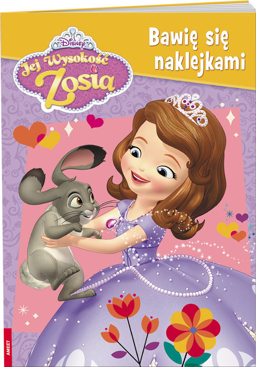 okładka Jej Wysokość Zosia Bawię się naklejkami NAKB-3, Książka |