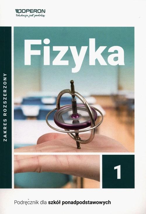 okładka Fizyka 1 Podręcznik Zakres rozszerzony Szkoła ponadpodstawowa, Książka | Ogaza Adam