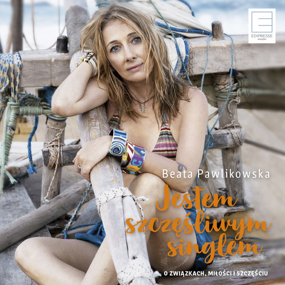 okładka JESTEM SZCZĘŚLIWYM SINGLEMaudiobook   MP3   Beata Pawlikowska