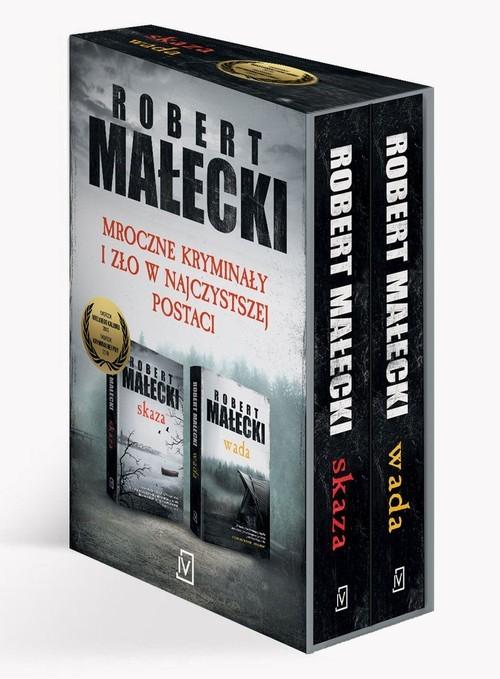 okładka Pakiet Małecki: Skaza, Wada, Książka | Robert Małecki