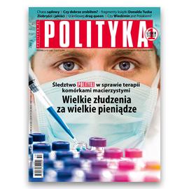 okładka AudioPolityka Nr 50 z 11 grudnia 2019 roku, Audiobook   Polityka