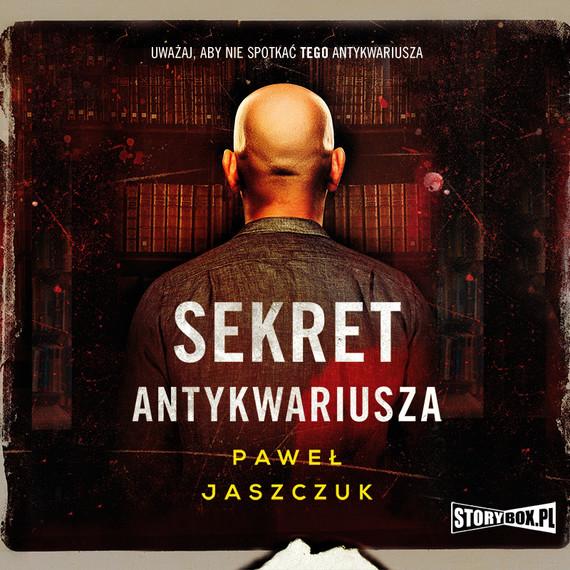 okładka Sekret antykwariuszaaudiobook | MP3 | Paweł Jaszczuk