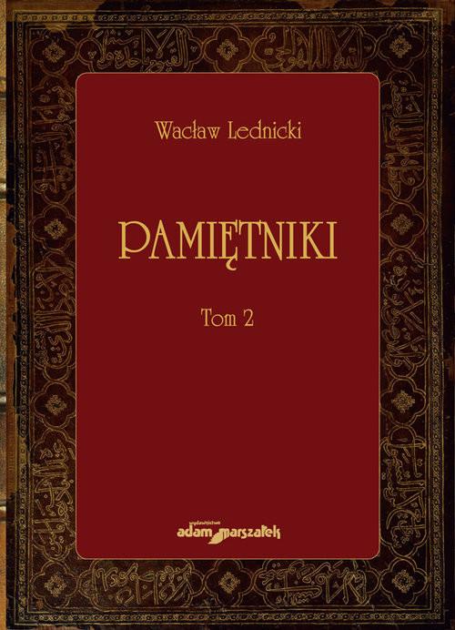 okładka Pamiętniki Tom 2, Książka   Lednicki Wacław