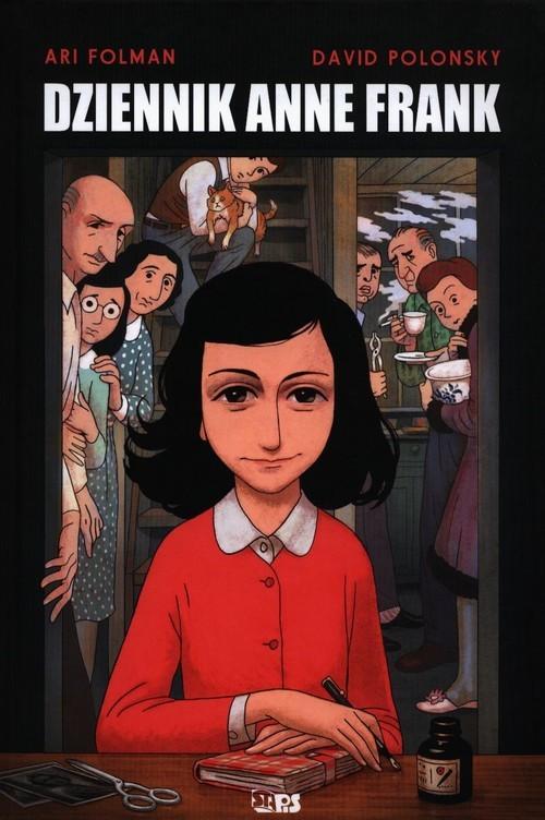 okładka Dziennik Anne Frank, Książka | Ari Folman, David Polonsky