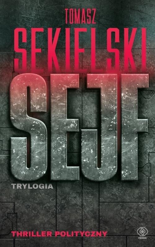 okładka Sejf Trylogia, Książka | Tomasz Sekielski