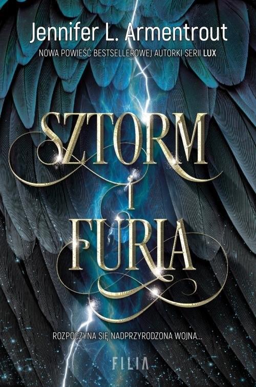 okładka Sztorm i Furia, Książka | Jennifer L. Armentrout