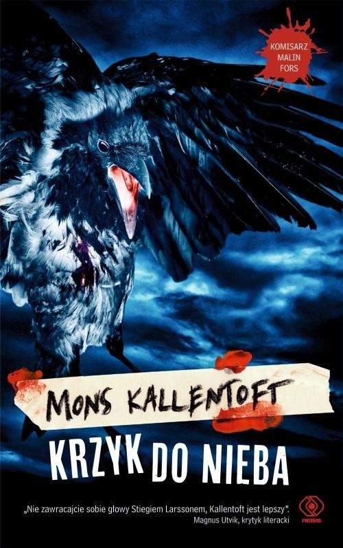 okładka Krzyk do nieba, Książka | Mons Kallentoft