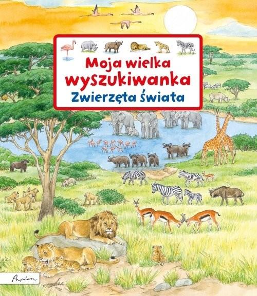 okładka Moja wielka wyszukiwanka Zwierzęta świata, Książka | Gernhauser Susanne