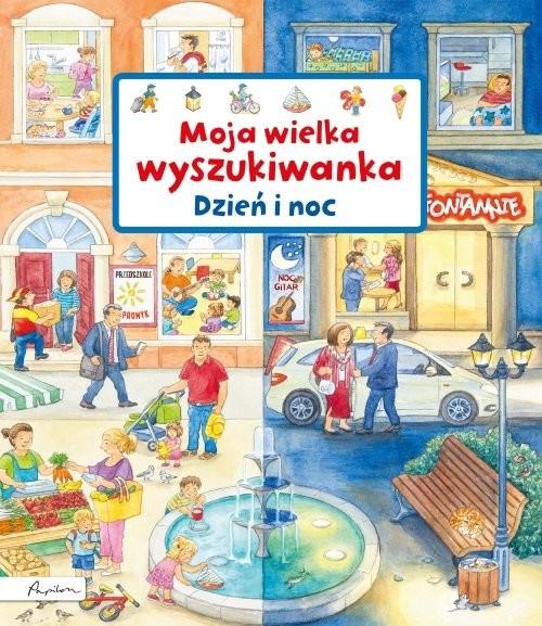 okładka Moja wielka wyszukiwanka Dzień i noc, Książka | Gernhauser Susanne