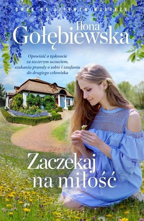 okładka Zaczekaj na miłość, Książka | Ilona Gołębiewska