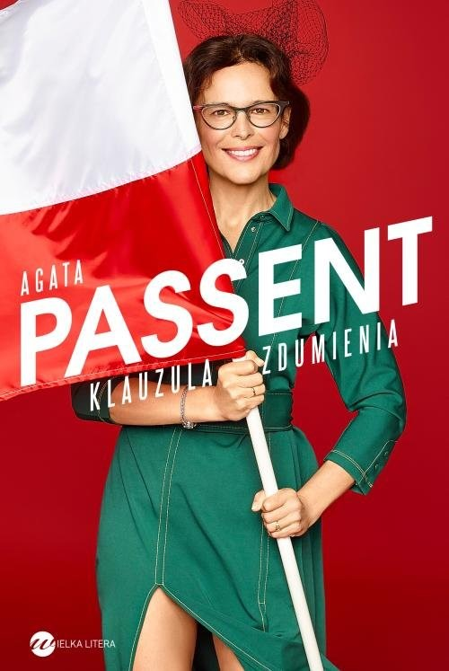 okładka Klauzula zdumieniaksiążka      Agata Passent