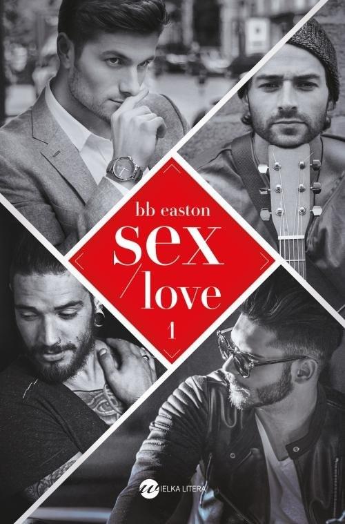 okładka Sex/Love, Książka | BB Easton