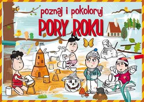 okładka Poznaj i pokoloruj Pory rokuksiążka |  | Krzysztof  Tonder