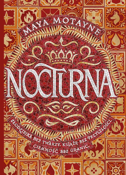 okładka Nocturna, Książka | Motayne Maya