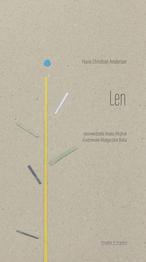 okładka Len, Książka | Hans Christian Andersen