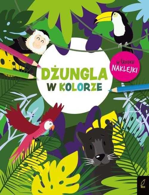 okładka W kolorze Dżungla, Książka |