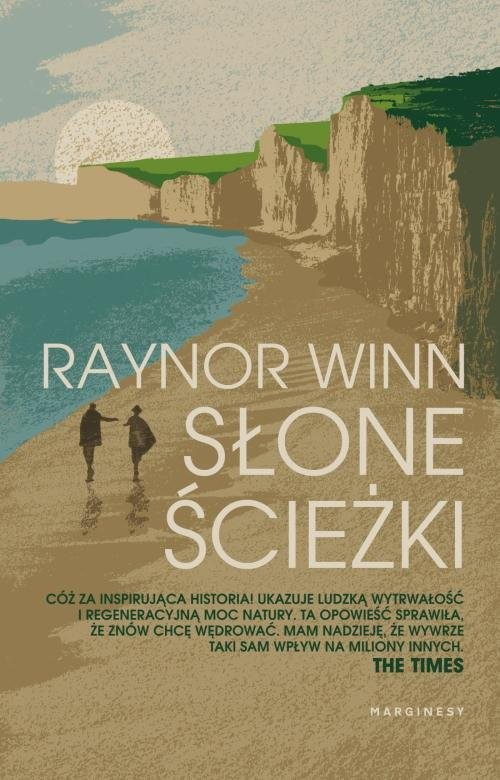 okładka Słone ścieżki, Książka | Raynor  Winn
