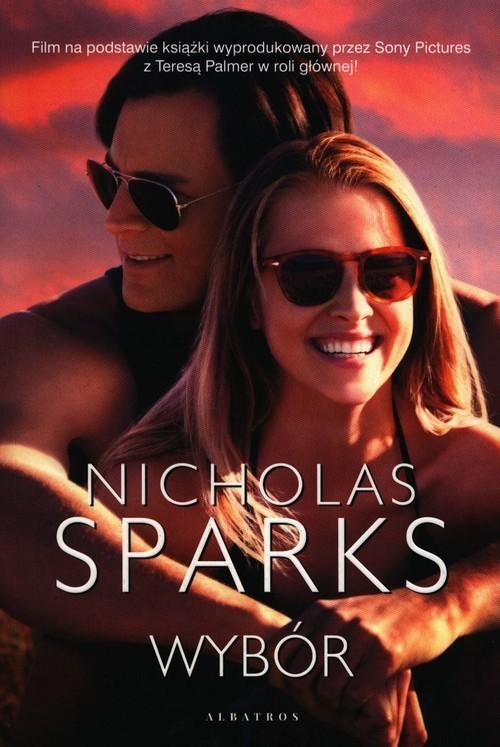 okładka Wybór, Książka | Nicholas Sparks