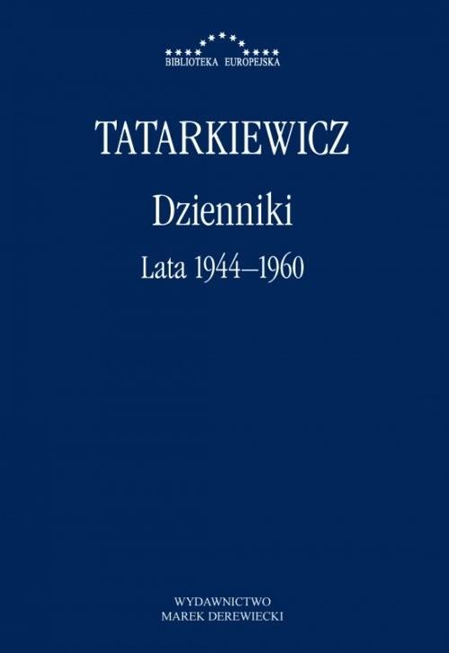 okładka Dzienniki Lata 1944-1960, Książka | Władysław  Tatarkiewicz