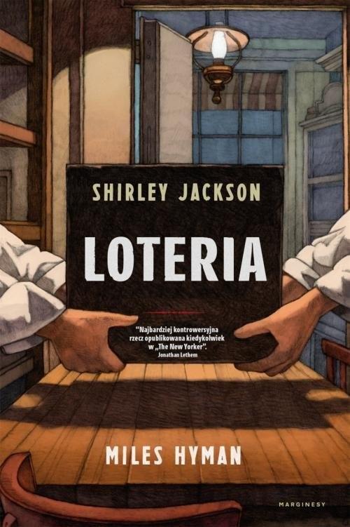 okładka Loteria, Książka | Hyman Myles